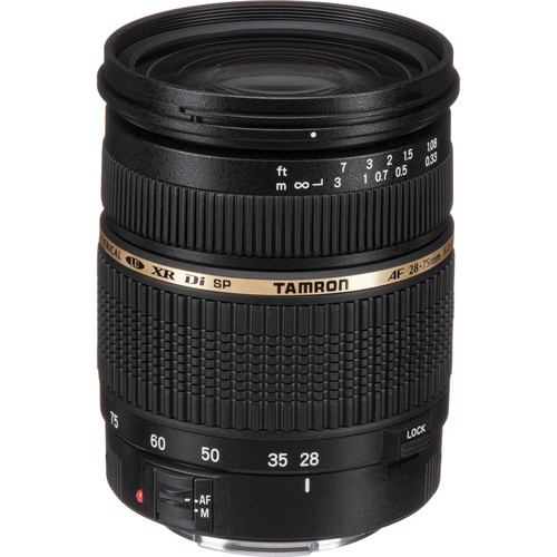 Tamron 28-75mm f/2.8 XR Di Autofocus Lens for Canon EOS