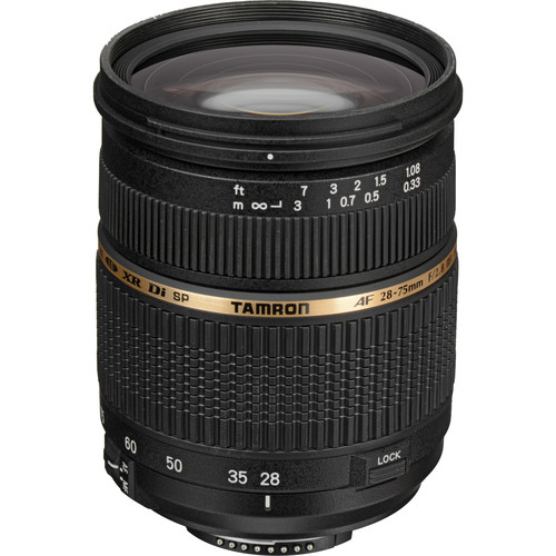 Tamron 28-75mm f/2.8 XR Di LD Aspherical (IF) Autofocus Lens for Nikon SLR