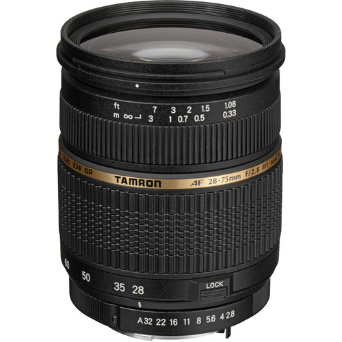 Tamron Zoom Wide Angle-Telephoto AF 28-75mm f/2.8 XR Di LD Aspherical (IF) Autofocus Lens for Pentax AF