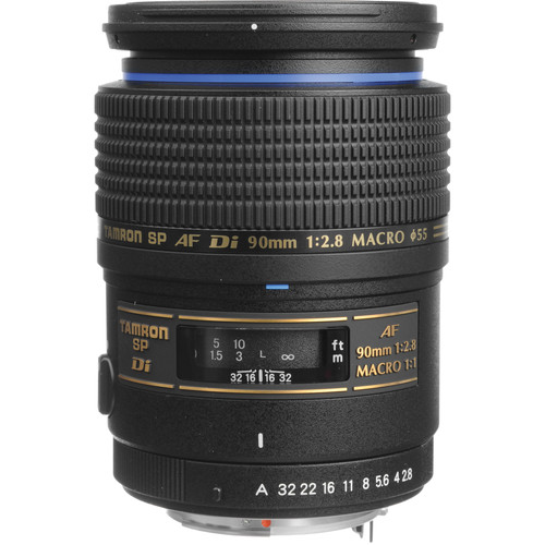 Tamron SP 90mm f/2.8 Di Macro Autofocus Lens for Pentax AF