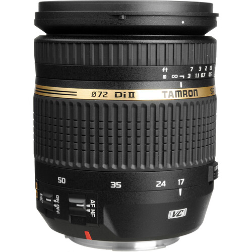 Sp Af 17 50mm F/2.8 Xr Di Ii Vc Ld Aspherical (If) Lens For Canon Ef by Tamron