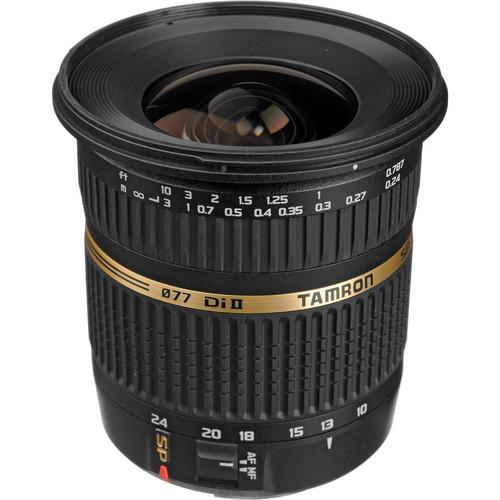Tamron SP AF 10-24mm f / 3.5-4.5 DI II Zoom Lens For Canon DSLR Cameras