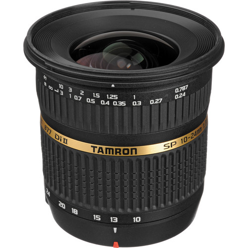 Tamron SP AF 10-24mm f / 3.5-4.5 DI II Zoom Lens For Pentax DSLR Cameras