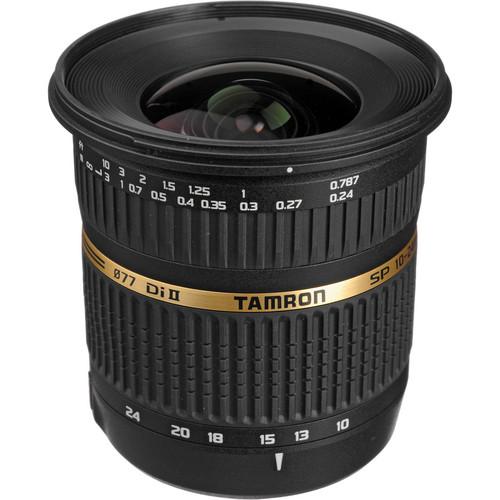 Tamron SP AF 10-24mm f / 3.5-4.5 DI II Zoom Lens For Sony DSLR Cameras