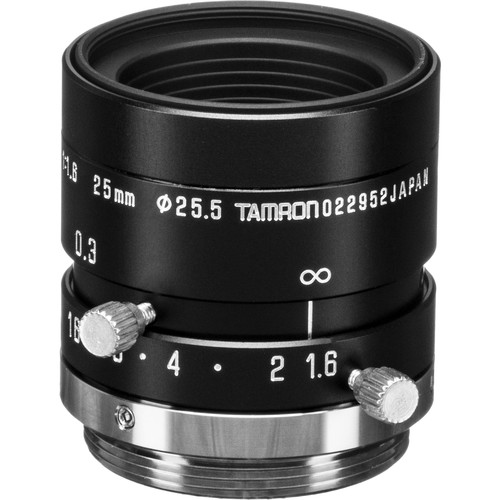 Tamron M118FM25 Megapixel Fixed-focal Industrial Lens (25mm)