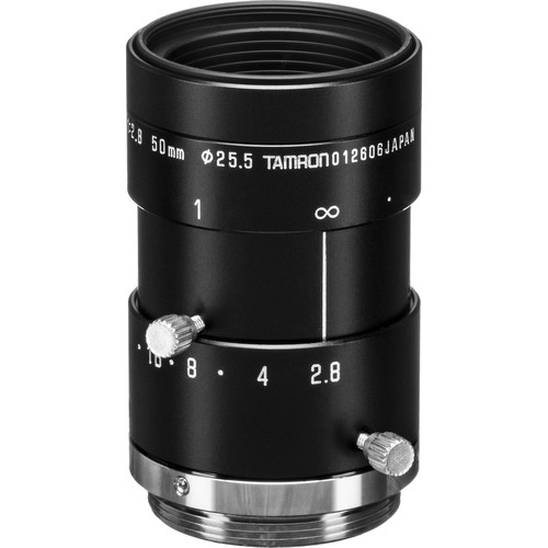 Tamron M118FM50 Mega-Pixel Fixed-Focal Industrial Lens (50mm)