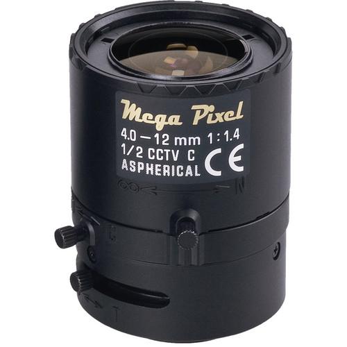 Tamron C-Mount 4 to 12mm Varifocal Manual Iris Lens