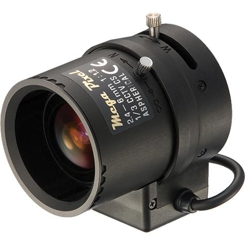 Tamron M13VG246 CCTV Lens (2.4-6mm, f/1.2)