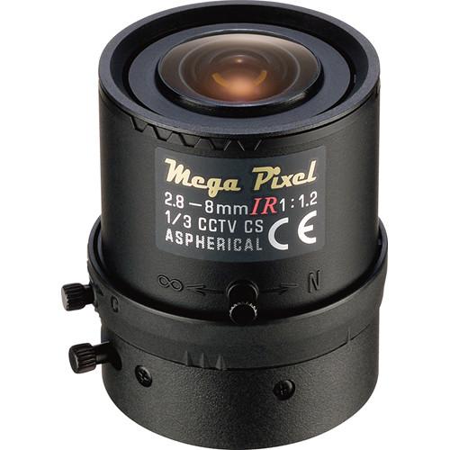 Tamron CS-Mount 2.8 to 8mm Varifocal Fixed Manual Iris Lens
