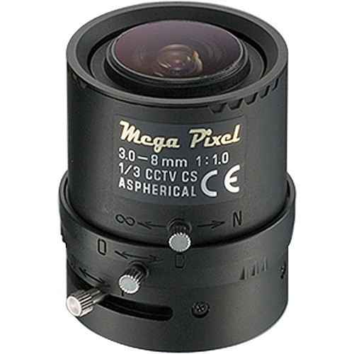 Tamron M13VM308 CCTV Lens (3-8mm, f/1)