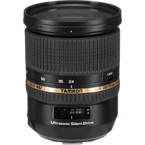 Tamron SP 24-70mm f/2.8 Di USD Lens for Sony Cameras