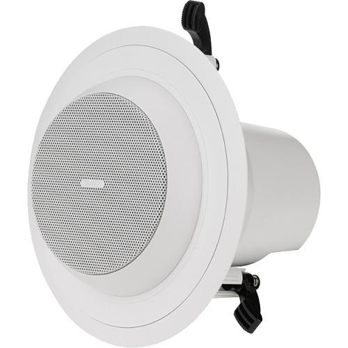 """Tannoy CMS401DCE 4"""" Ceiling Speaker for 70V or Low Impedance Operation  (White)"""