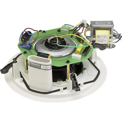 """Tannoy CMS601DCPI 6.50"""" Ceiling Speaker for 70V or Low Impedance Operation  (White)"""