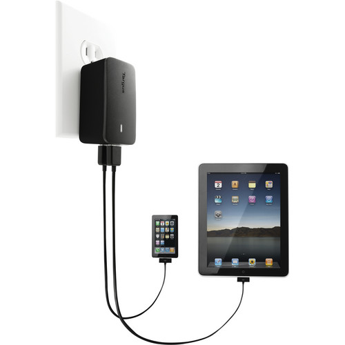 Targus Dual Charger for iPad (Black)