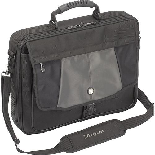 "Targus CPT301US Platinum Blacktop 17"" Standard Laptop Case (Black with Grey Trim)"