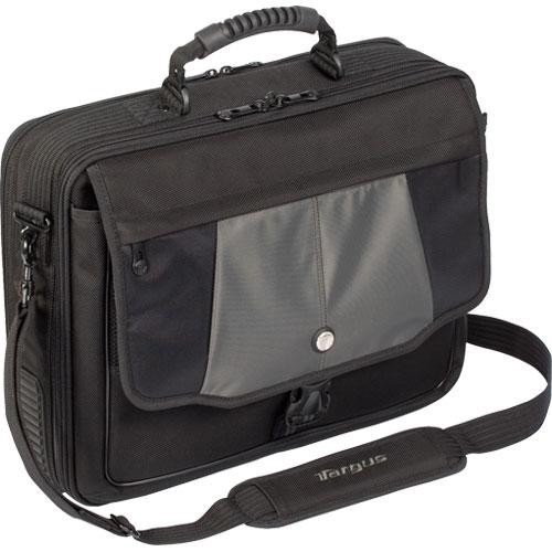 "Targus CPT401DUS Blacktop Deluxe 17"" Laptop Case with Dome Protection"