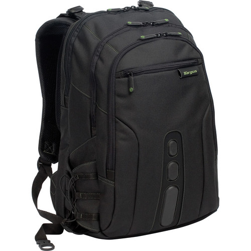 "Targus 15.6"" Spruce EcoSmart Backpack (Black/Green)"