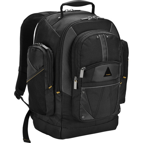 "Targus Conquer 16"" Plus Backpack (Black/Gray)"