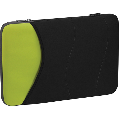 "Targus 16"" Quash Sleeve (Fits Macbook Pro up to 16"", Black/Green/Gray)"
