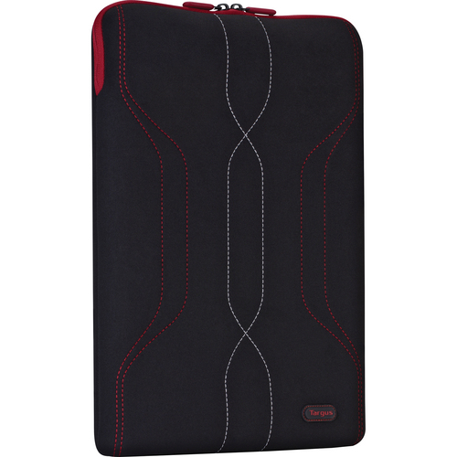 "Targus 16"" Pulse Sleeve for PC Laptops up to 16"" (Black/Red)"