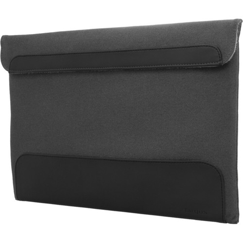 "Targus 13.3"" Ultralife Thin Canvas Sleeve (Gray)"