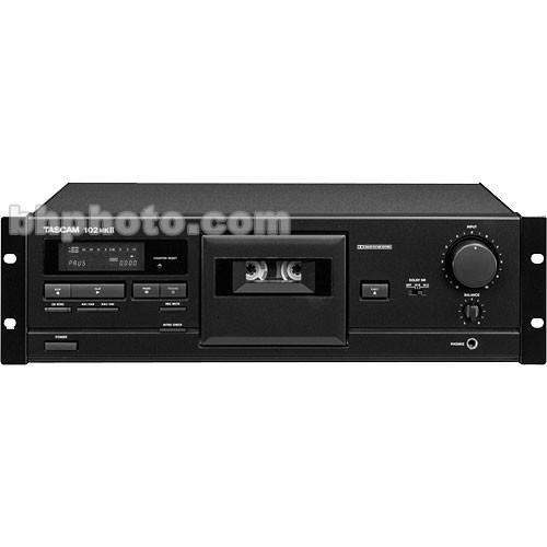 Tascam 102MKII Rack Mount Cassette Deck