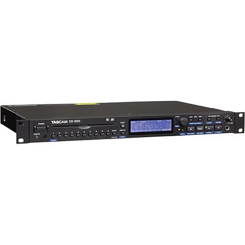Tascam CD-500 Single-Rackspace CD Player