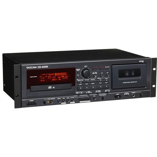 Tascam CD-A550 Rackmount CD Player/Cassette Recorder