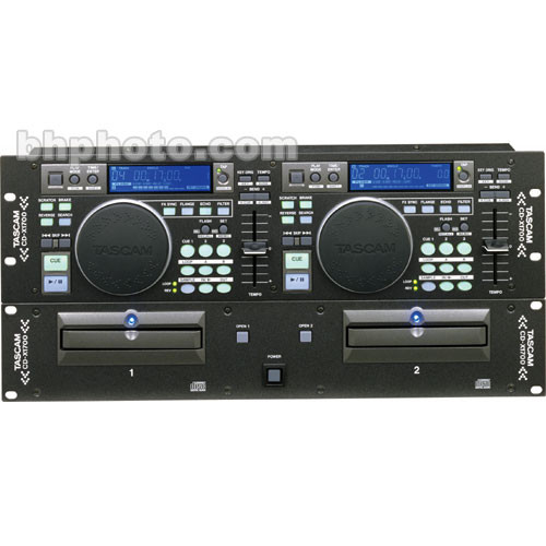 Tascam CDX1700 - Rackmountable CD/MP3 Player for DJ's