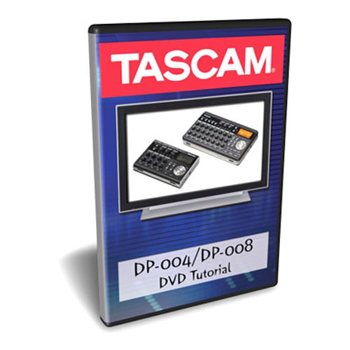 Tascam DP-004 and DP-008 Tutorial DVD