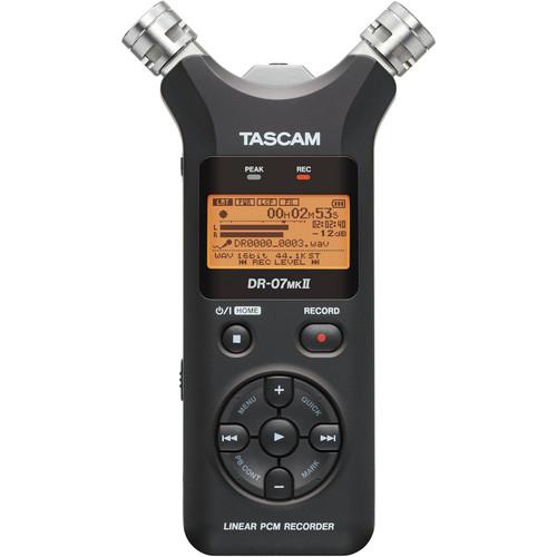 Tascam DR-07mkII Portable Digital Audio Recorder