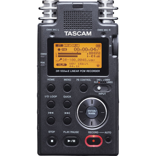 Tascam DR-100mkII Portable Recorder Value Pack