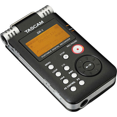 Tascam DR-1 Portable Stereo Audio Recorder