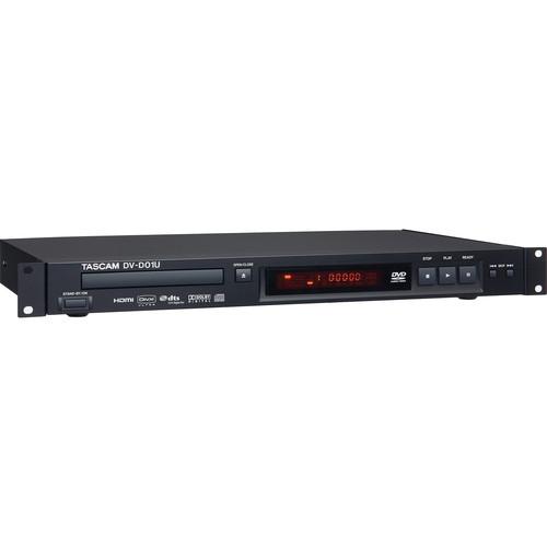 Tascam DV-D01U Rack Mountable Studio DVD Player