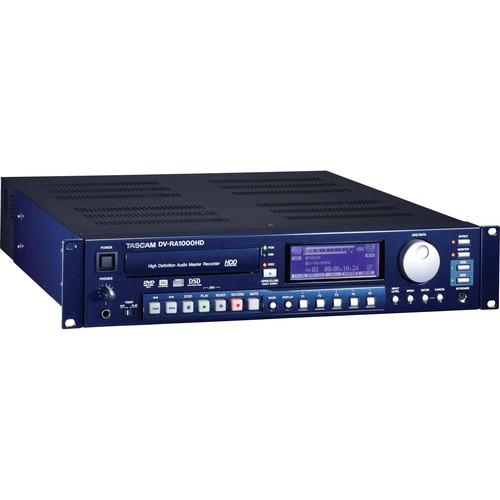 Tascam DV-RA1000HD High-Definition CD, DVD, and Hard Drive Recorder
