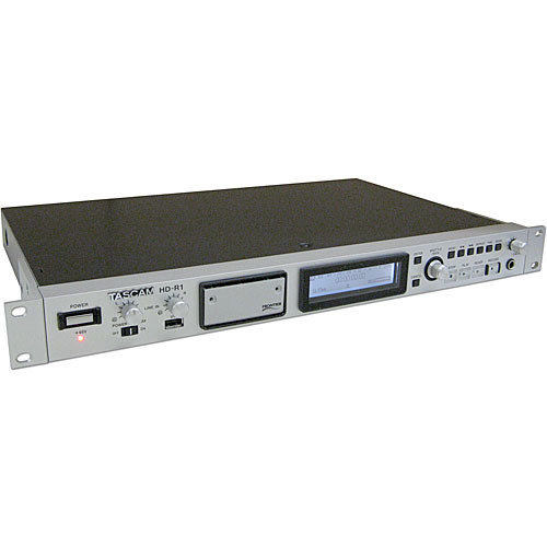 Tascam HD-R1 Two-Channel Solid State Audio Recorder