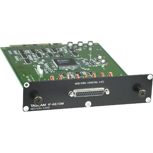 Tascam IFAE/DM 8 Channel AES/EBU Digital Expansion Card