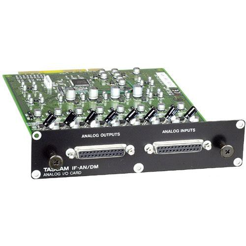 Tascam IFAN/DM 8 Channel Analog I/O Expansion Card