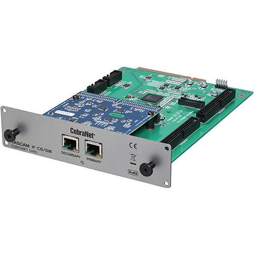 Tascam IF-CB/DM CobraNet Interface Card for DM-3200/4800