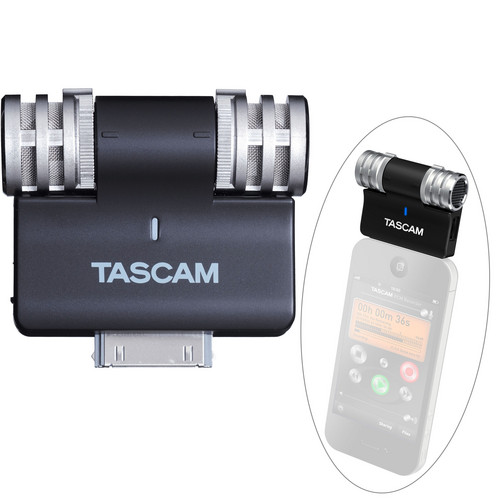Tascam iM2 Stereo Microphone for Apple iOS Products