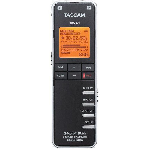 Tascam PR-10 Portable Digital Audio Recorder