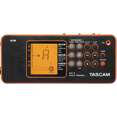 Tascam PT-7 Chromatic Tuner & Trainer