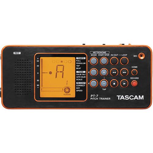Tascam PT-7 Chromatic Tuner & Trainer