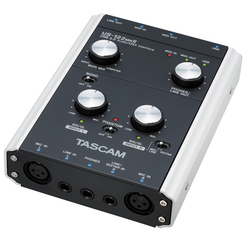 Tascam US-122MKII - USB 2.0 Computer Audio Interface