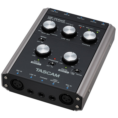 Tascam US-144MKII - USB 2.0 Computer Audio Interface