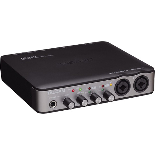 Tascam US-200 - USB 2.0 Audio/MIDI Interface