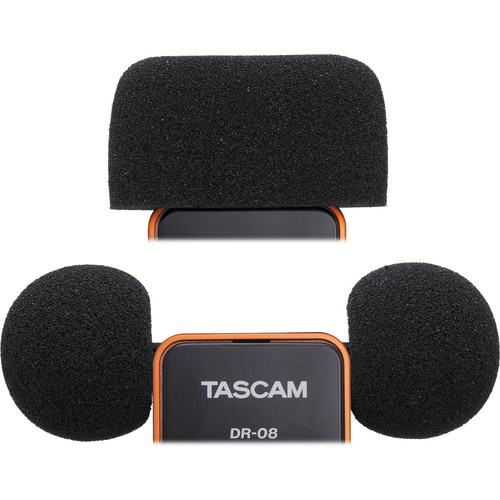 Tascam WS-DR08 Foam Windscreens for DR-08