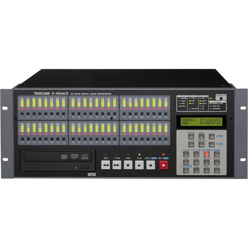 Tascam X-48MKII 48-Track Hybrid Hard Disk Workstation