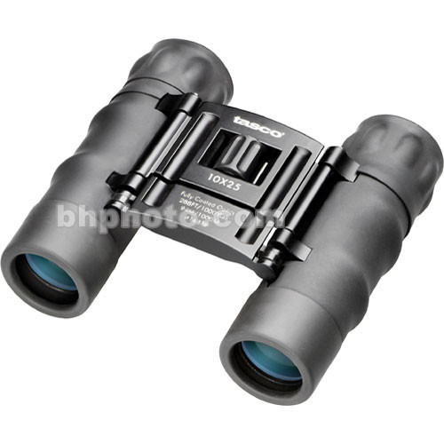 Tasco 10x25 Essentials Compact Binocular (Black)