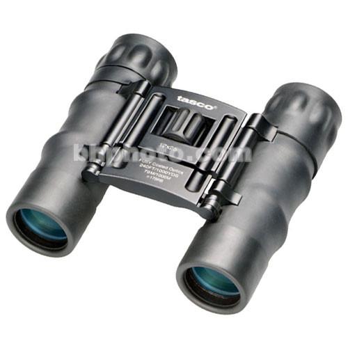 Tasco 12x25 Essentials Binocular (Black, Clamshell Packaging)